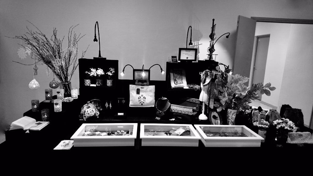 Stand exposition-vente en entreprise