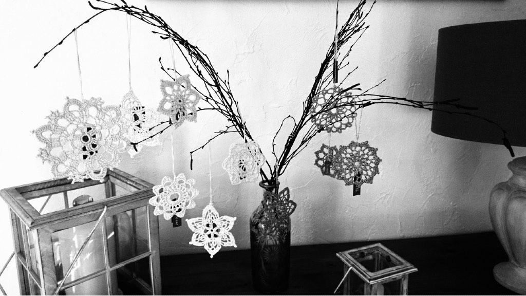 Décoration de Noël au crochet