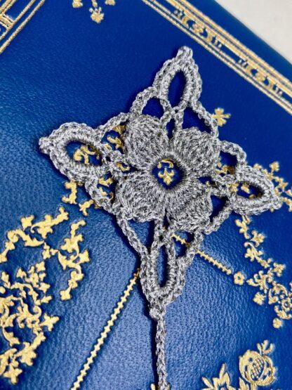 Marque page étoile dentelle au crochet