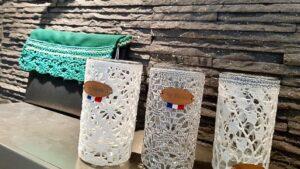 Boutique Accessoires en dentelle au crochet