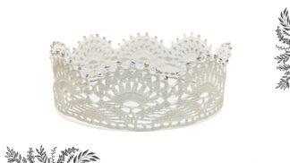 couronne reine en dentelle au crochet