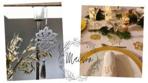 Objets de décoration en dentelle au crochet