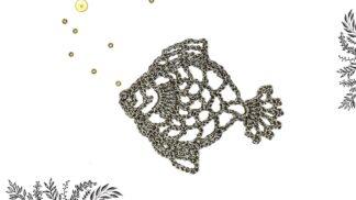 Poisson en dentelle au crochet DIY