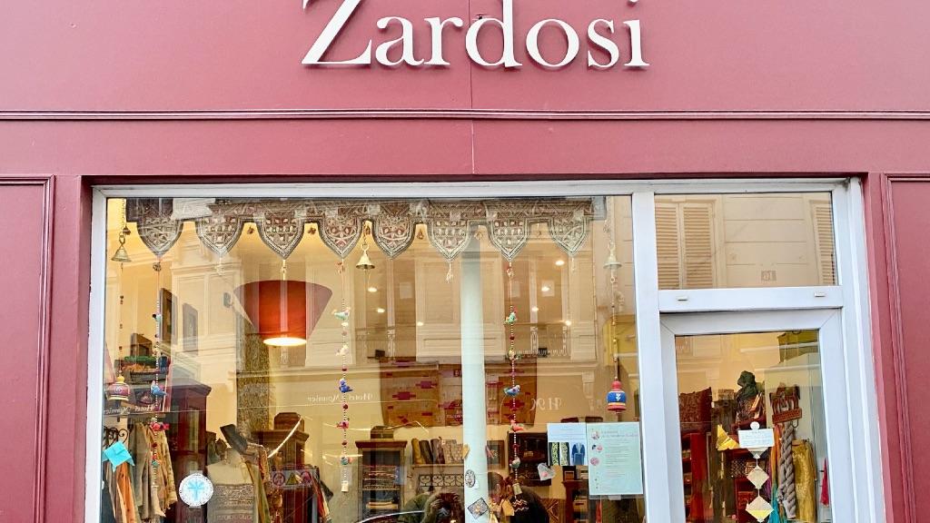 Mercerie Zardosi : la Broderie Or à Paris