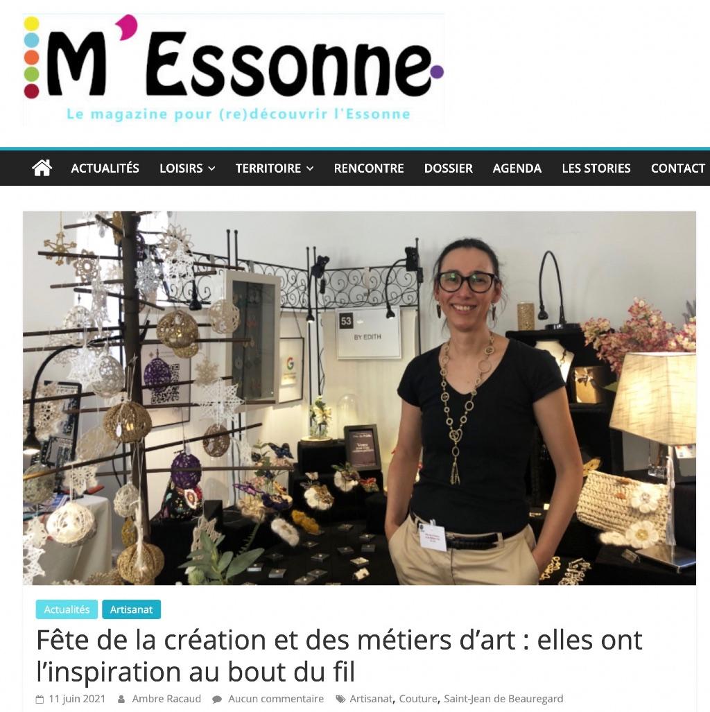 Fete de la creation et des métiers d'art Essonne